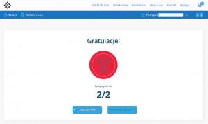 platforma NajslabszeOgniwo.pl - sprawdzenie wiedzy w szkoleniu cyber awareness - bezpieczny pracownik